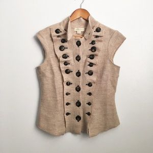 Anthropologie By Gro Abrahamsson Button Top